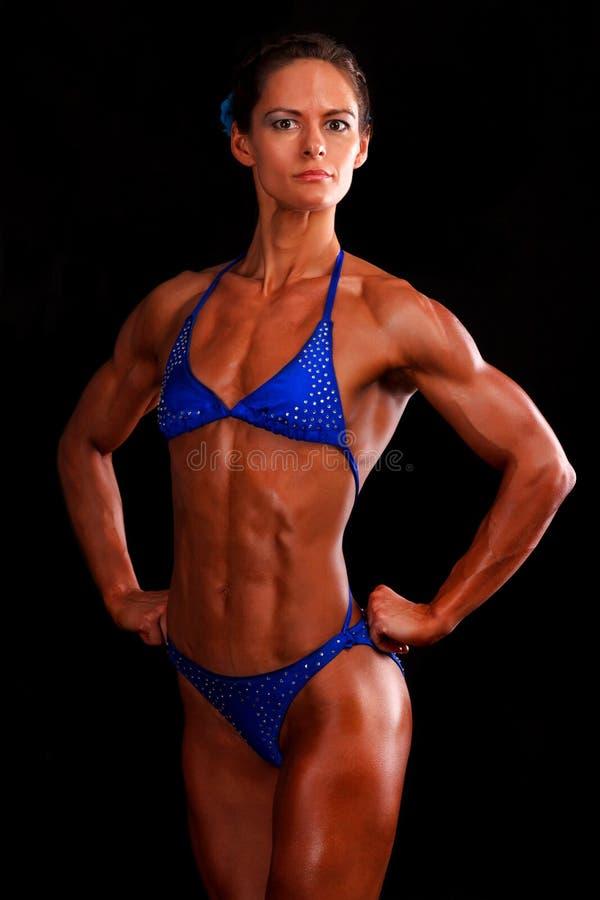 Muscular Woman Stock Photo