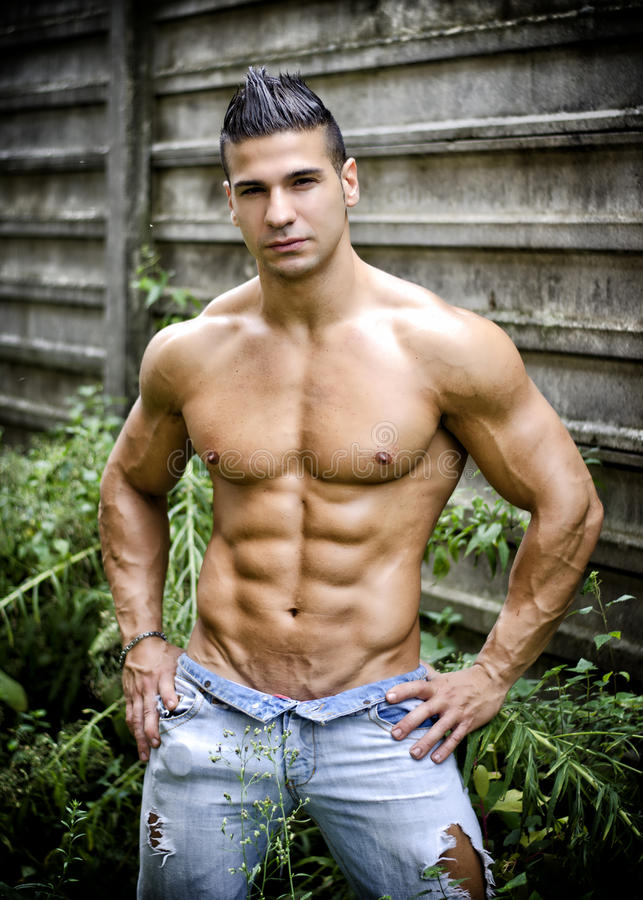 Latino muscle men