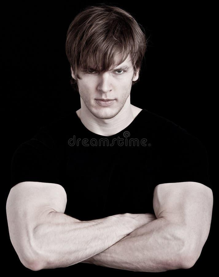 Free Muscular Young Man Royalty Free Stock Photos - 22791008