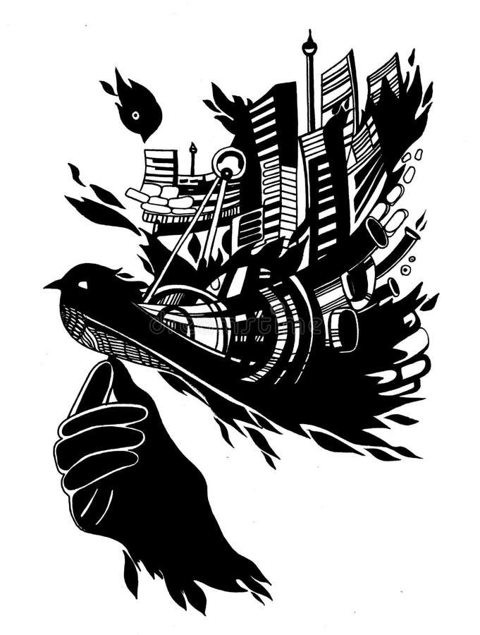 muse ilustración del vector