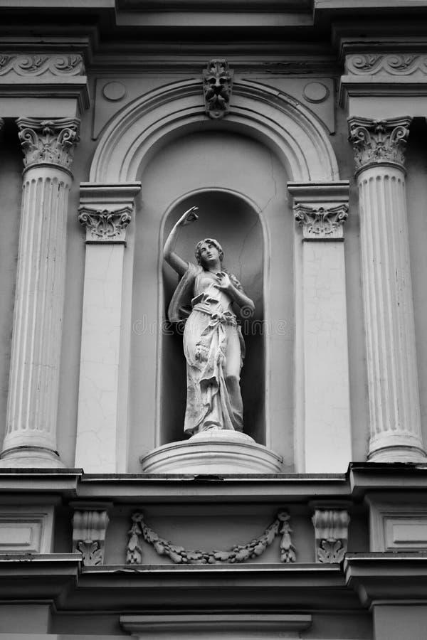 Muse de la photo de monument de théâtre photo libre de droits