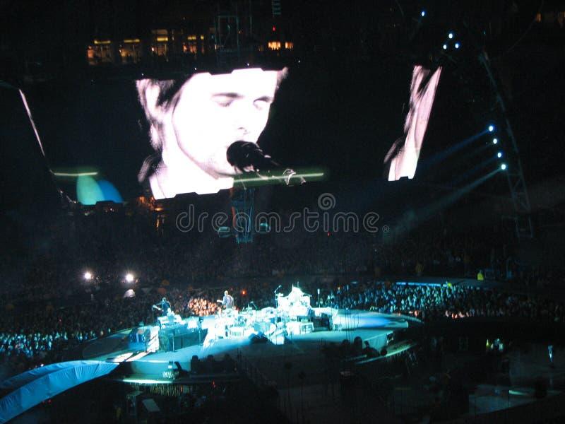 Muse-Konzert am 1. Oktober 2009 lizenzfreies stockfoto