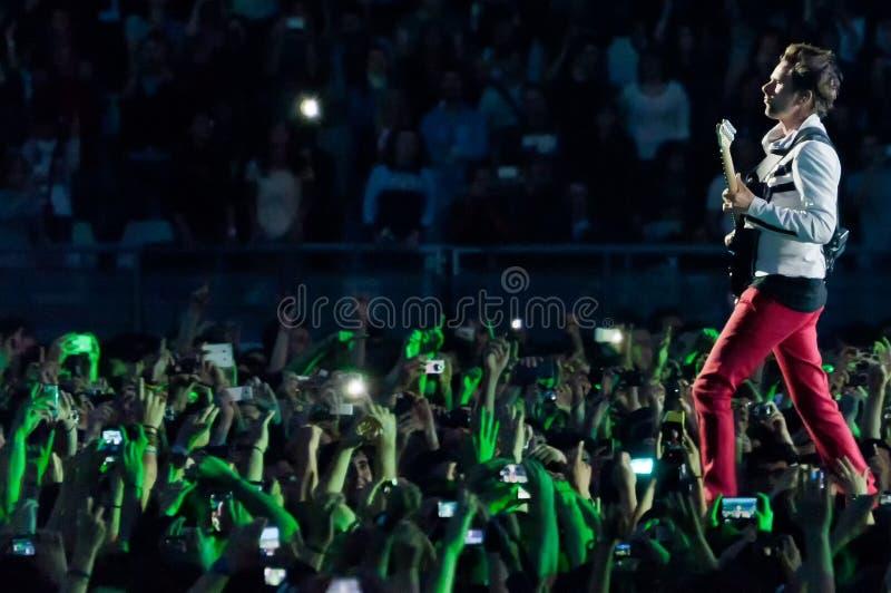 Muse Live! stockbilder