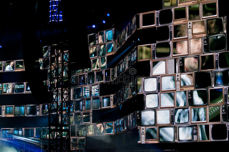Muse Live! lizenzfreies stockfoto