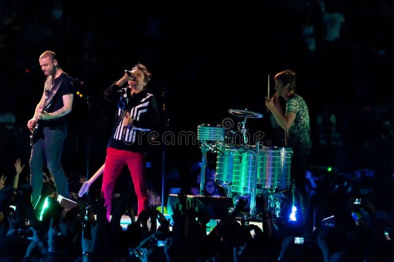 Muse Live! stockfotos
