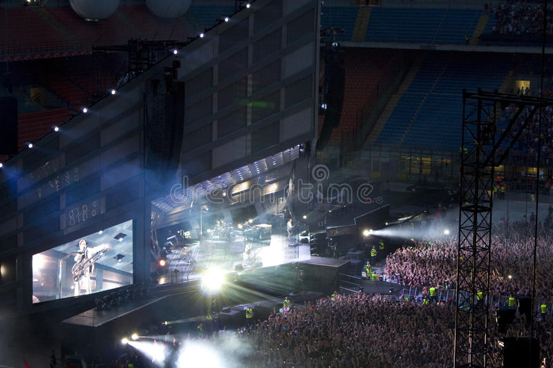 Muse - The Resistance Tour royalty free stock photography