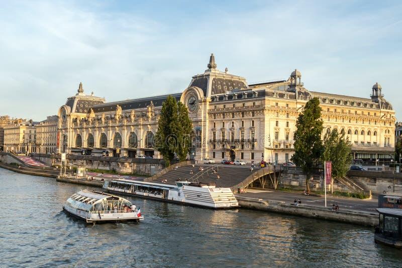 Musee d `奥赛-巴黎,法国 免版税图库摄影