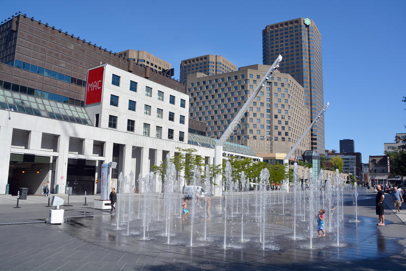 Musee d'art contemporain de Montreal royalty free stock photography