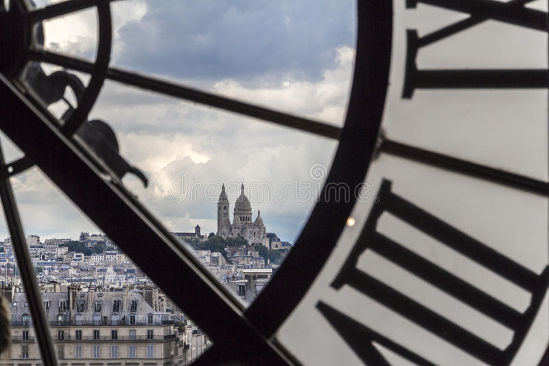 Musee d'Orsay à Paris, France image libre de droits