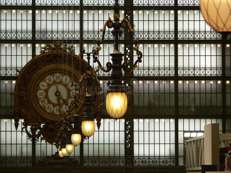 Musee d Orsay, Париж (Франция) стоковые изображения rf