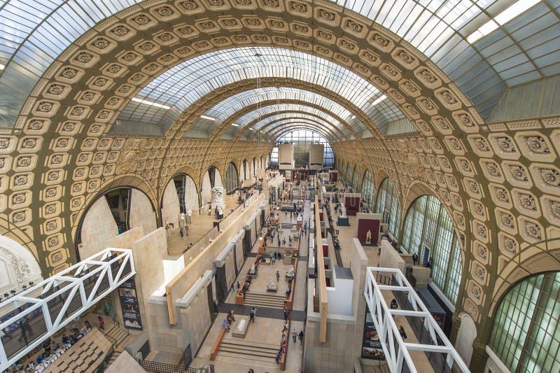 Musee D'Orsay royalty-vrije stock fotografie