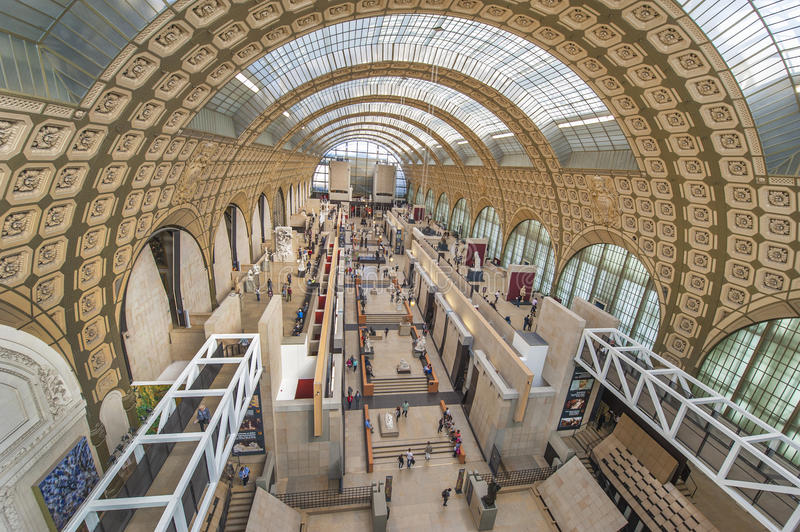Musee D'Orsay stock fotografie