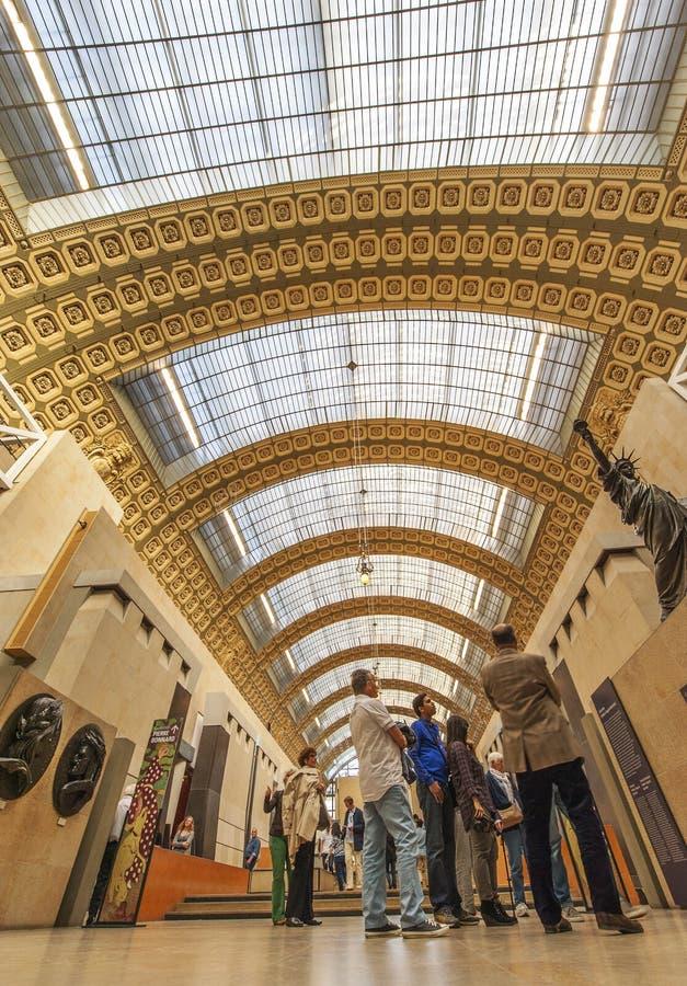 Musee D'Orsay royalty-vrije stock afbeeldingen