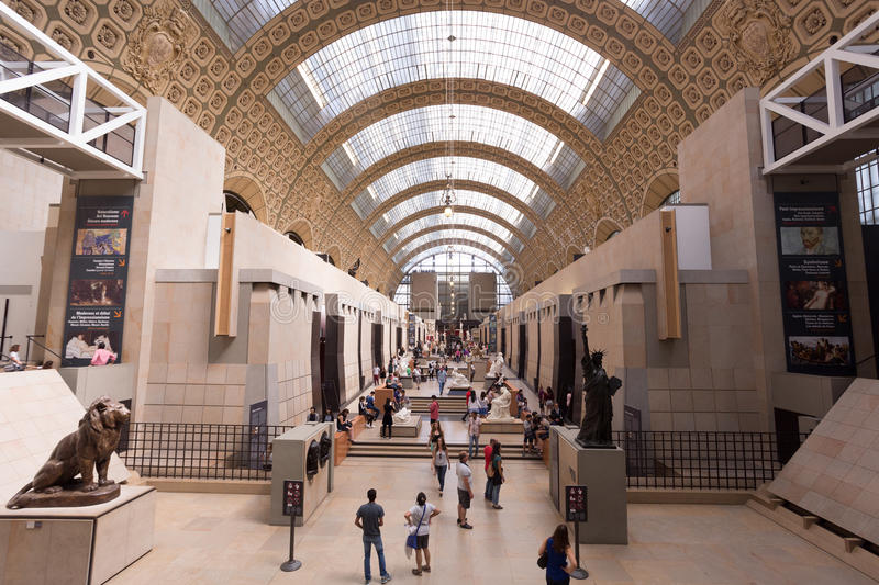 Musee D ` Orsay royalty-vrije stock foto