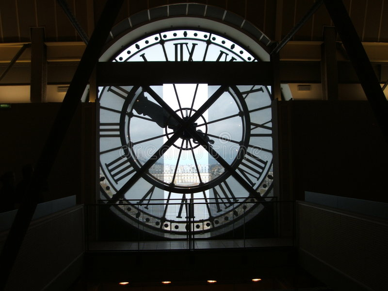 Download Musee d'orsay clock stock photo. Image of orsay, europe - 2704002