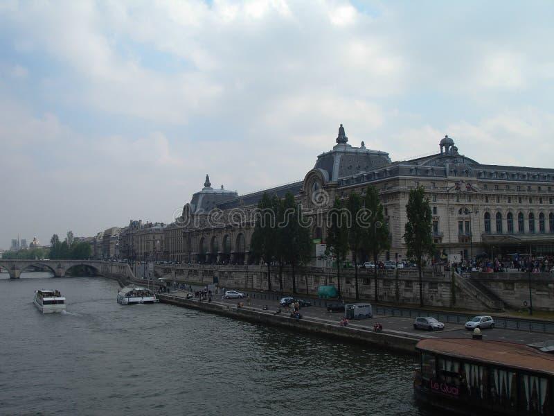 Musee d'Orsay lub Orsay muzeum, Paryż fotografia stock