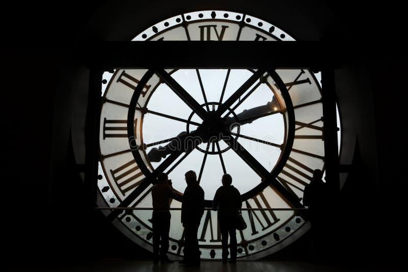 Musee D Orsay in Parijs, Frankrijk stock foto