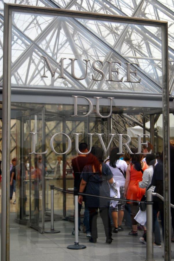 Musee du Louvre imagen de archivo