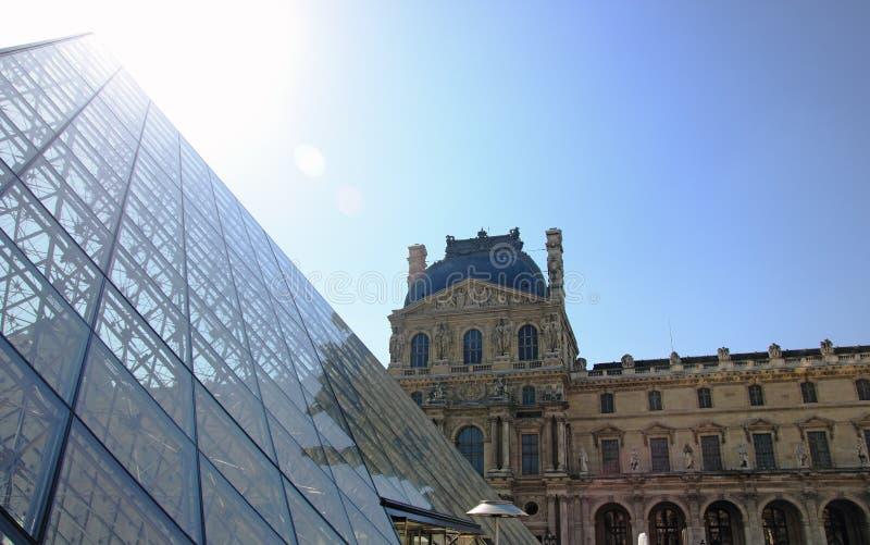 Musee du Louvre lizenzfreies stockbild