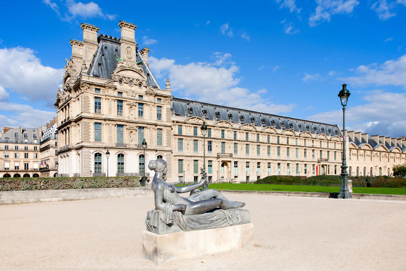 Download Musee du Louvre stock photo. Image of baroque, museum - 27116556