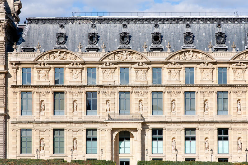 Download Musee du Louvre stock image. Image of exterior, traditional - 27116813