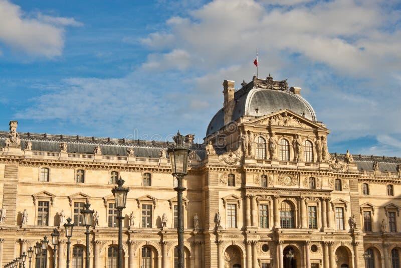 Musee du Louvre, Paris. stockfotos