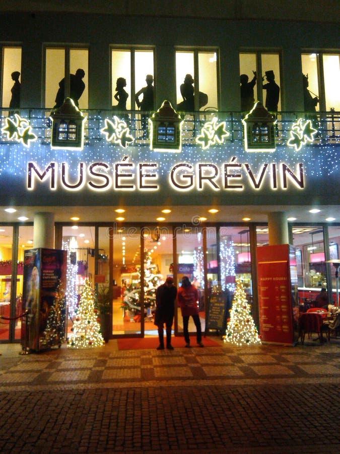 Musee Grevin i Prague fotografering för bildbyråer