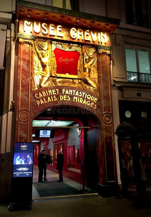 Musee Grevin Paris royaltyfri bild