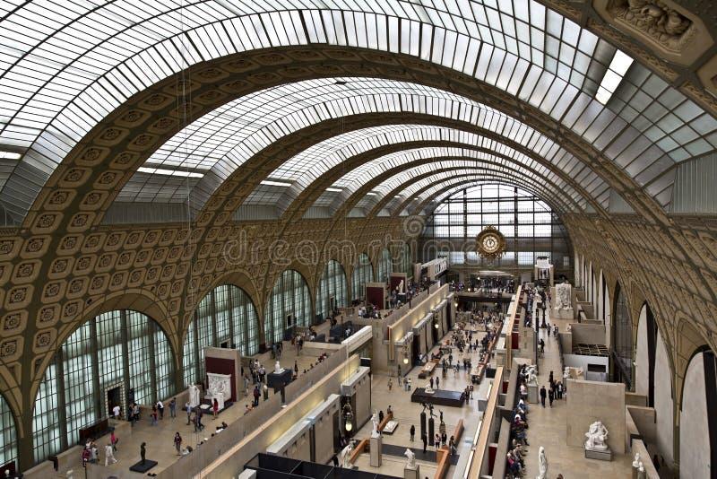 musee orsay Παρίσι δ στοκ εικόνες
