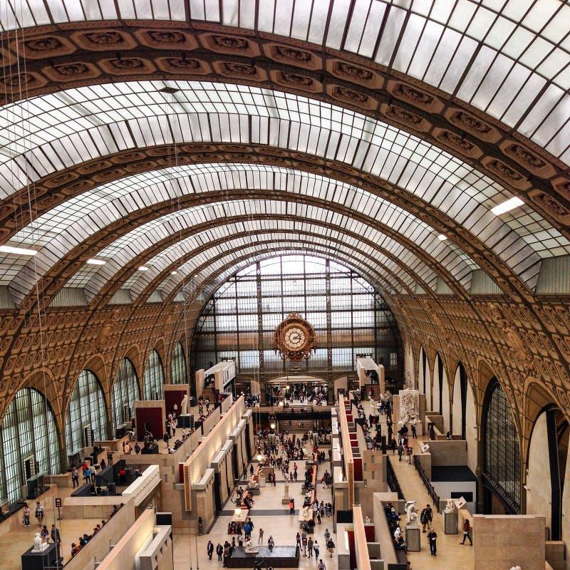 musee δ orsay στοκ φωτογραφίες