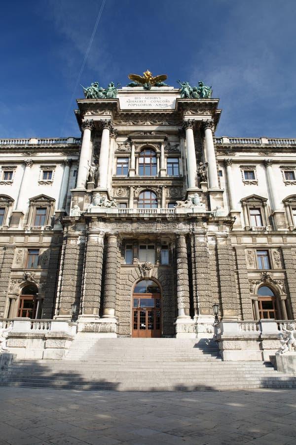 Museet av etnologi i Burggarten parkerar, Wien Museet är en av arkivbilder