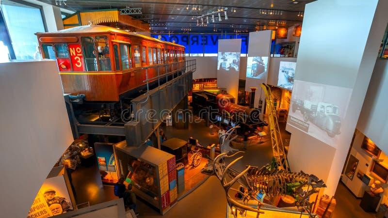 Museet av Liverpool arkivfoton