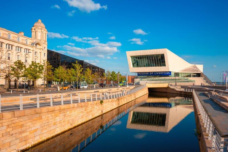 Museet av Liverpool royaltyfri bild