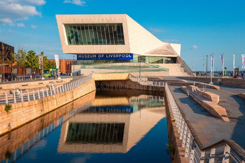 Museet av Liverpool royaltyfri fotografi