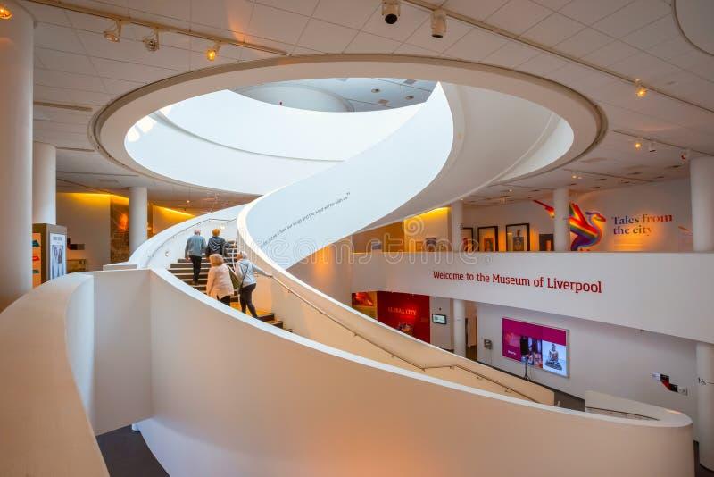 Museet av Liverpool arkivfoto