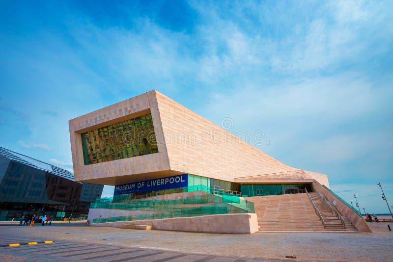 Museet av Liverpool royaltyfria foton