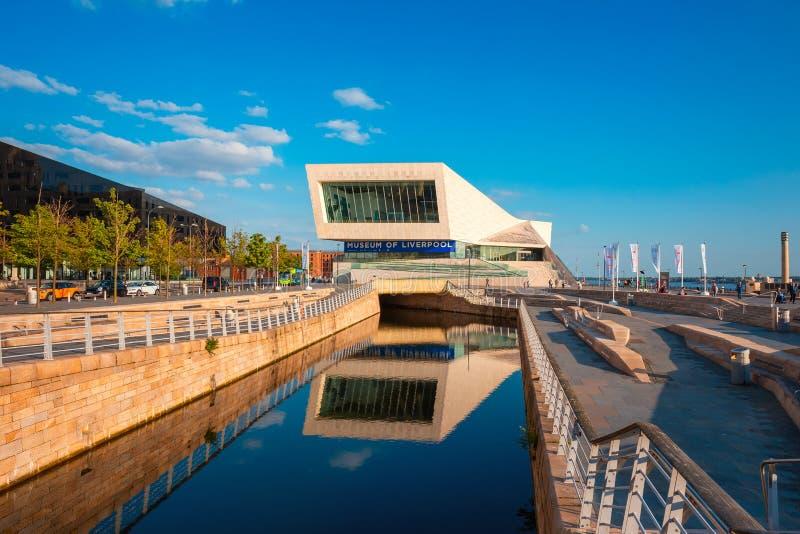 Museet av Liverpool royaltyfri foto