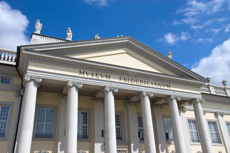 Museet Fridericianum i Kassel royaltyfri foto