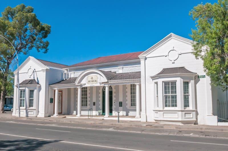 Museet i Graaff Reinet, Sydafrika arkivbild