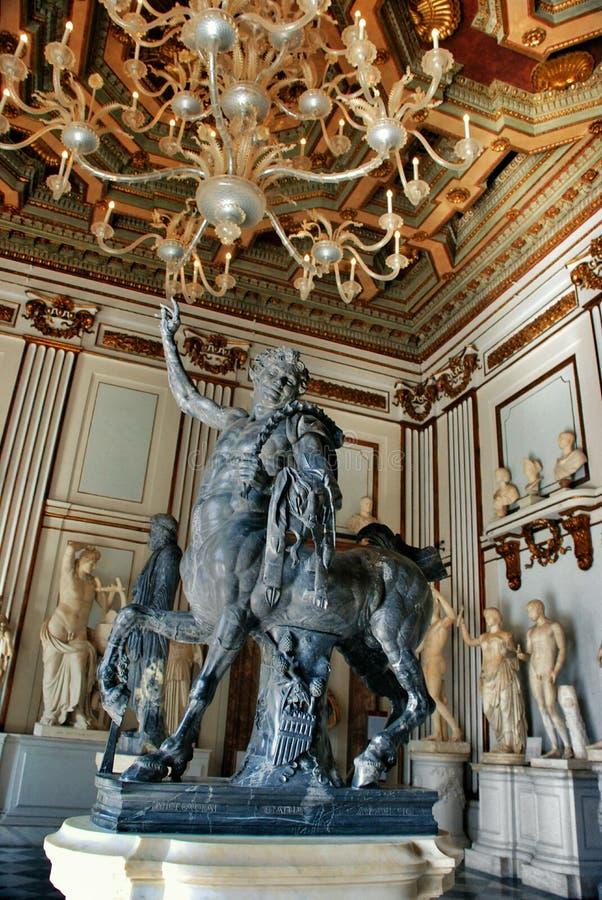 Musei Capitolini fotos de archivo