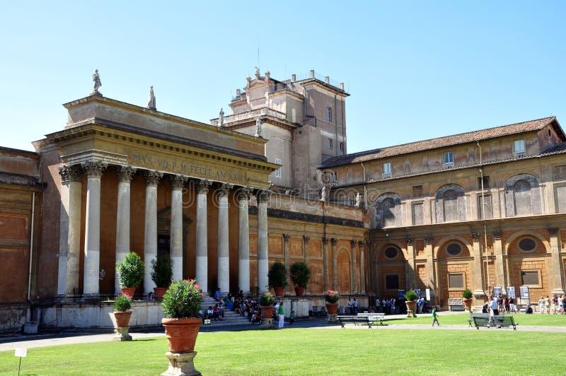 musei muzealny Vatican vaticani obraz royalty free