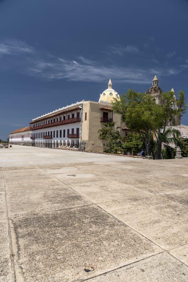 Museo Военноморск del Caribe, Cartagena стоковые изображения