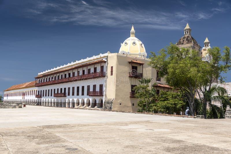 Museo Военноморск del Caribe, Cartagena стоковая фотография rf