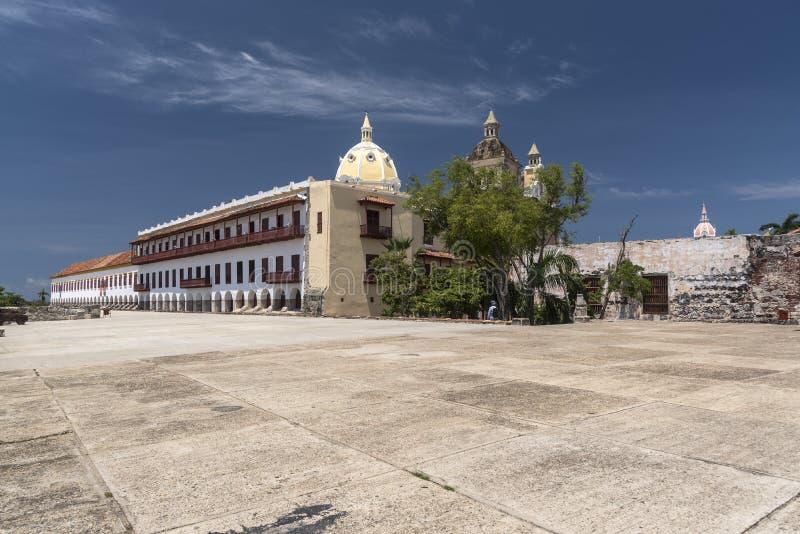 Museo Военноморск del Caribe, Cartagena стоковые изображения rf
