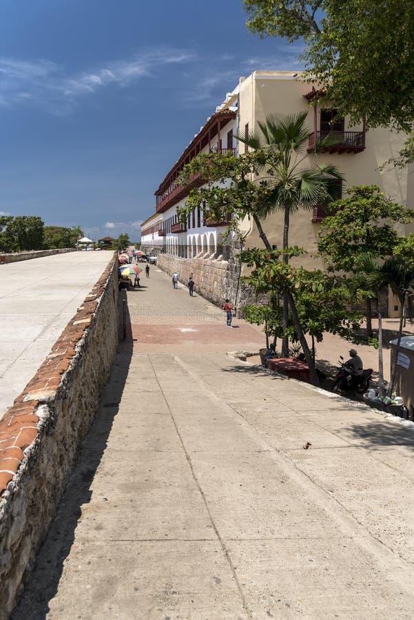 Museo Военноморск del Caribe, Cartagena стоковое фото rf
