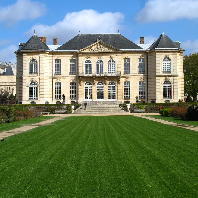 Museo 01, París, Francia de Rodin foto de archivo