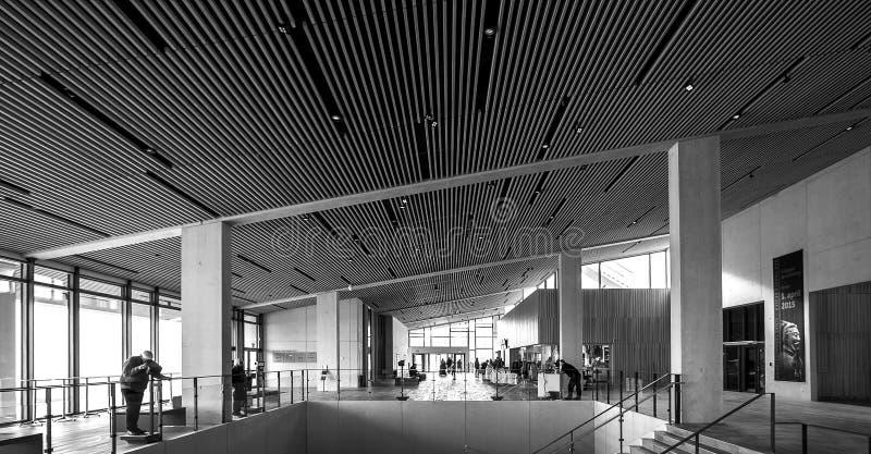 Museo Aarhus Danimarca di Moesgaard immagine stock