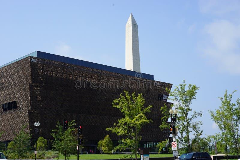 Museo afroamericano y monumento de Washington fotografía de archivo
