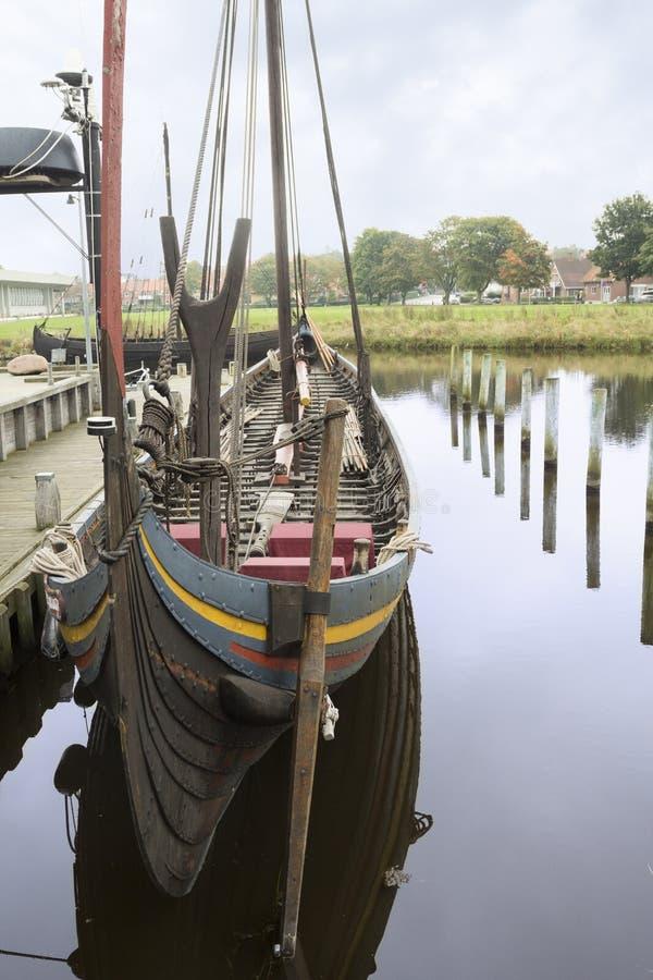 Museo al aire libre de los buques de guerra de Roskilde fotografía de archivo libre de regalías