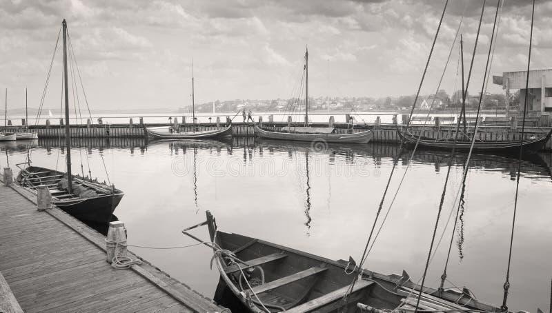 Museo al aire libre de los buques de guerra de Roskilde imagen de archivo
